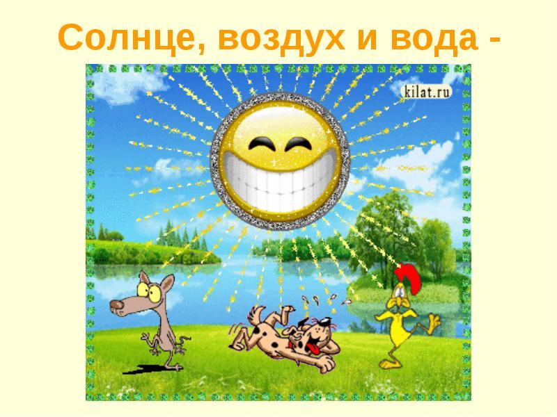 Солнце воздух и вода наши лучшие друзья реферат 465